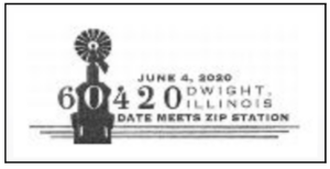 Date Meets Zip 60420 Pictorial Postmark
