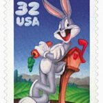 Upcoming Bugs Bunny 80th birthday stamps July 27