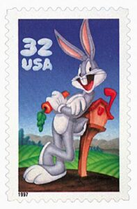 Bugs Bunny stamp #3137a – 1997 32c