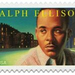 Ralph Ellison Stamp 2014 Literary Arts Series, Author Invisible Man, Juneteenth