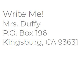 Congratulations Letter Matters _Mailing Address