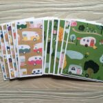 YellowBirdCardStudio Camping Note Cards Set & Father's Day Cards