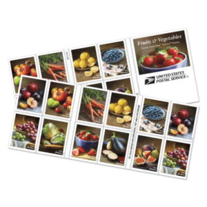 Fruits and Vegetables stamps USPS 682704-Z0