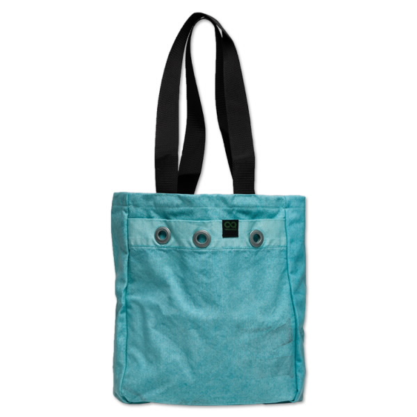 Sea Green Mailbag Tote