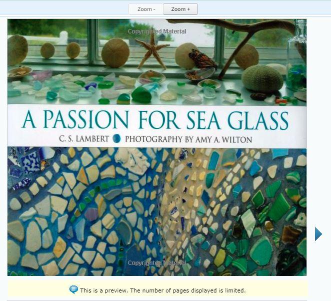 A Passion for Sea Glass book