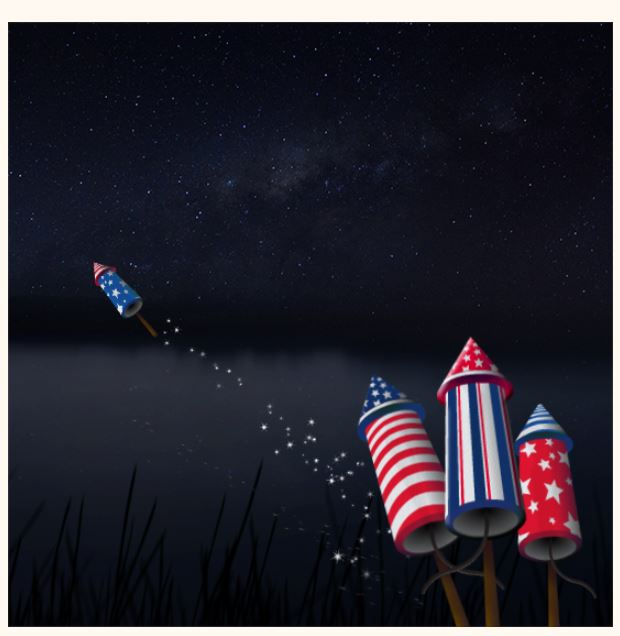 BlueMountain July 4th ecard Have A Blast Interactive