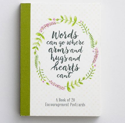 Dayspring Encouraging Words Postcard Book