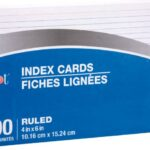 In praise of index cards organizing