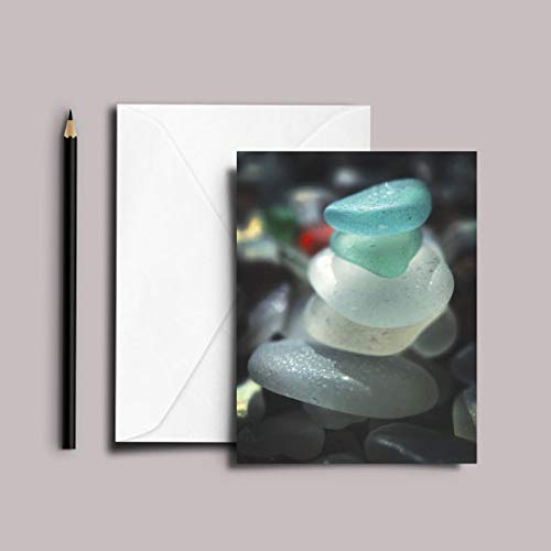 US Coastal Sea Glass Notecards