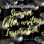 Summer Letter Writing Inspiration