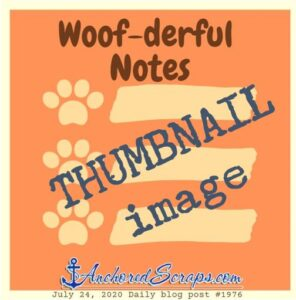 Woof-derful Notes Printable