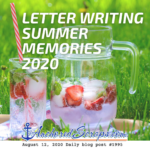 Letter Writing Summer Memories 2020