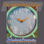 On spending time