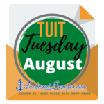 RoundTuit Tuesday August Printable
