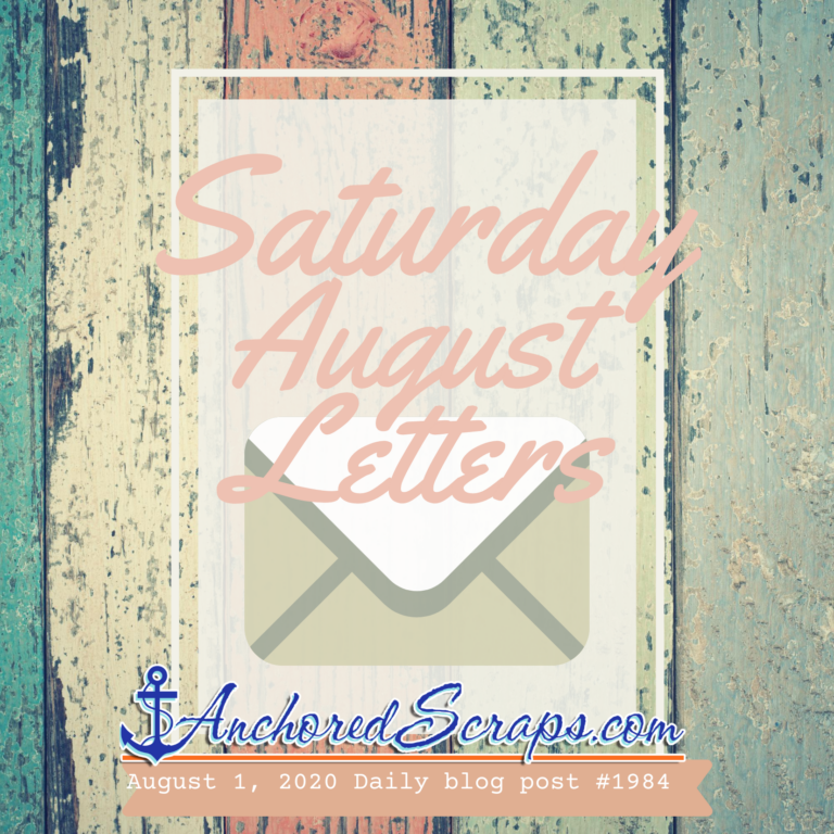 Saturday August Letters Printable