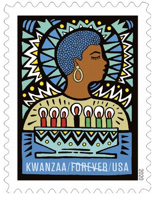 Holiday Forever 2020 Stamps: Kwanzaa