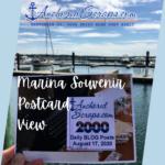 AnchoredScraps Marina Souvenir Postcard View #2017