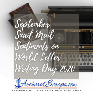 September Snail Mail Sentiments