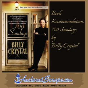 Book Recommendation Billy Crystal 700 Sundays #2031
