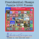 Presidential Stamps Puzzle 1000 Pieces