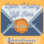 Letter Writing Gift Idea Custom Wax Seal