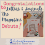 Congratulations Letters & Journals The Magazine – Fall 2020 Premiere Issue Debuts