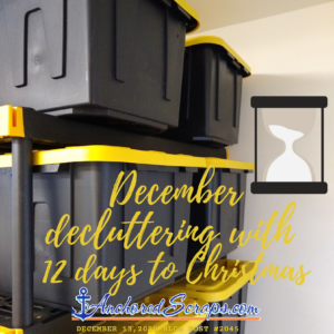 December decluttering with 12 days to Christmas #2045