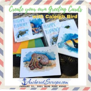 Create Greeting Cards Caleigh Bird Art