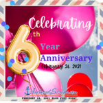 Celebrating AnchoredScraps 6th Year Letter Writing Blog Anniversary!