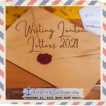 Writing Lenten Letters 2021