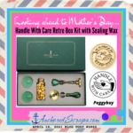 Looking ahead to Mother's Day … Handle With Care Retro Box Kit with Sealing Wax