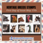 Heritage Breeds Stamps USPS FDOI May 17th