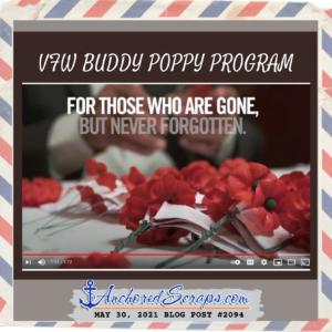 VFW Buddy Poppy Program Memorial Day 2021
