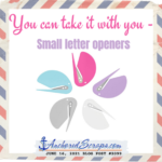 You CAN take it with you: Small Letter Openers