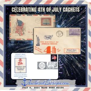 celebrating 4th of july cachets