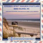 Kindred Spirit Mailbox Postcard Bird Island, NC